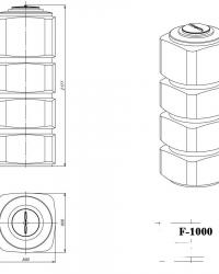 F-1000 чертеж