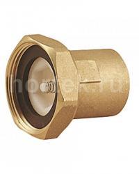 Фитинг для подключения циркуляционного насоса, с встроенным обратным клапаном.