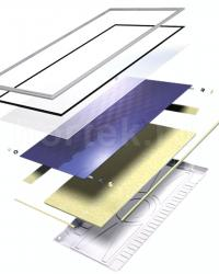 Wolf Высокоэффективный солнечный коллектор F3-1, серия TopSon, вертикальное исполнение